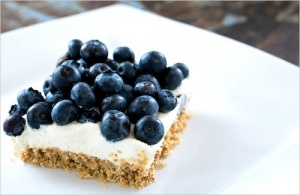 No-Bake Blueberry Cheescake