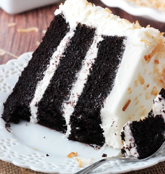 Amazing Chocolate Coconut Cake