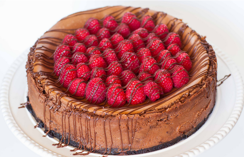 Delicious Caramel Raspberry Chocolate Cheesecake To Satiate Your Sweet Tooth