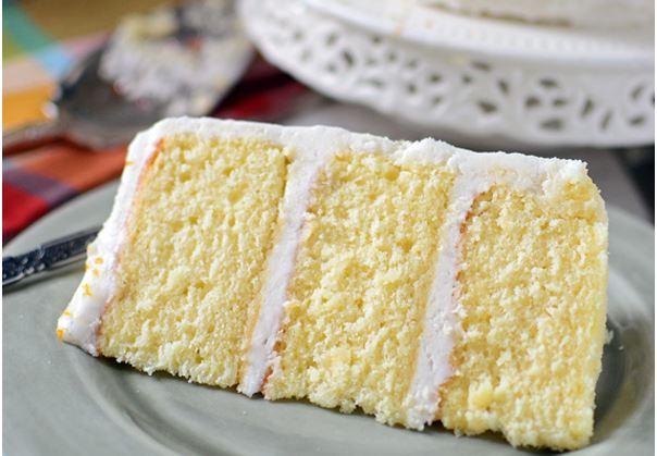 Orange Butter Cake Delight With Cardamom Butter Cream Frosting