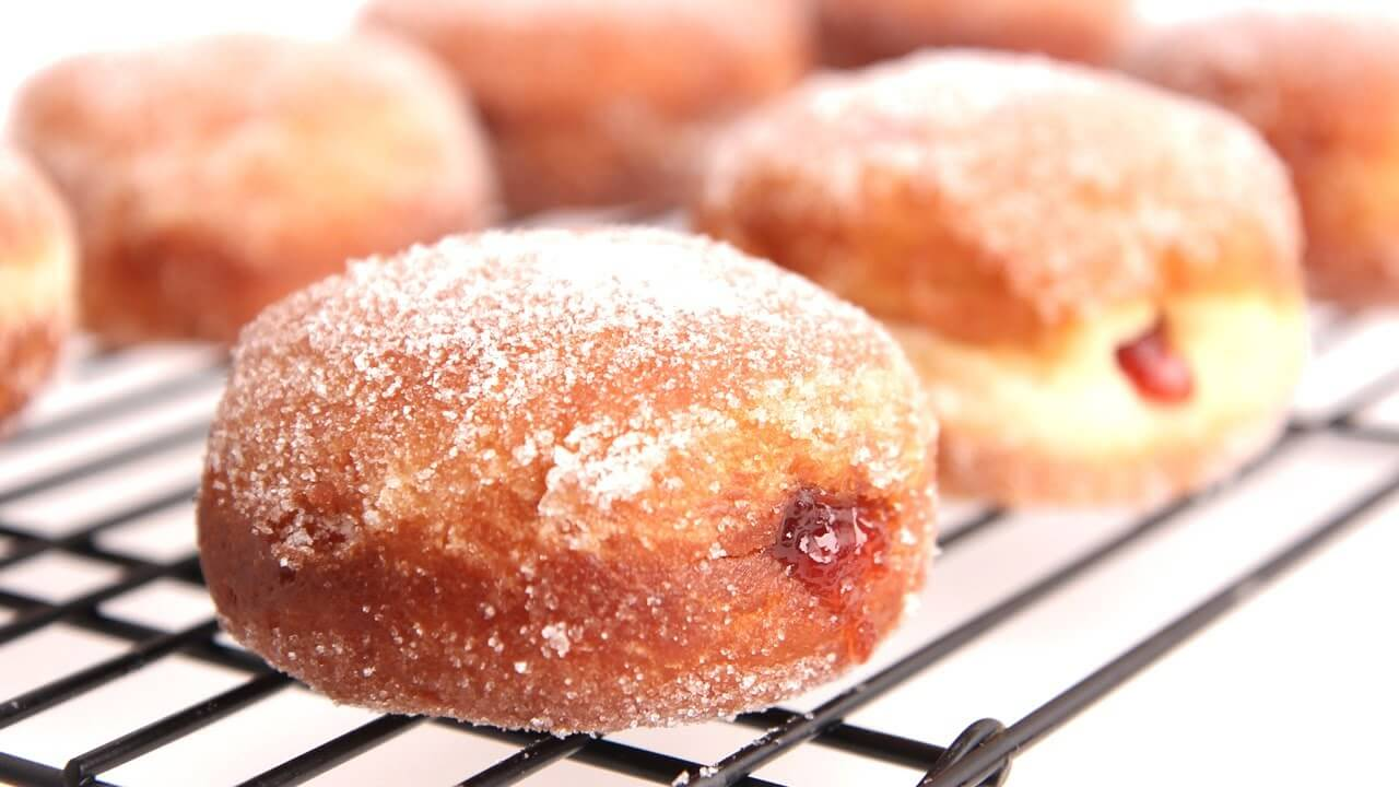 Easy And Pleasing Homemade Jelly Donut – Page 2 – Desserts Corner