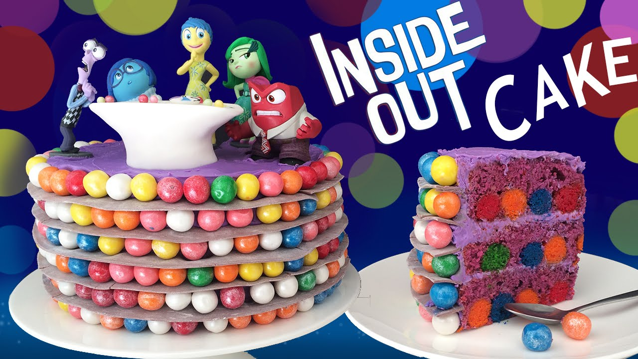 Making Your Own Inside Out Cake Desserts Corner