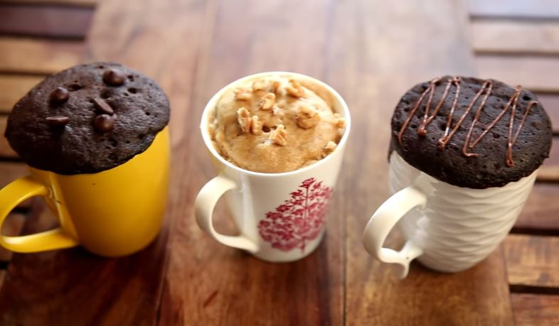 Eggless Mug Cake Recipe