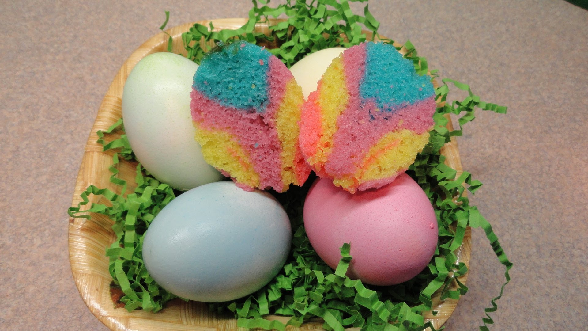 Amazing Easter Cupcakes In Egg Shells - Desserts Corner