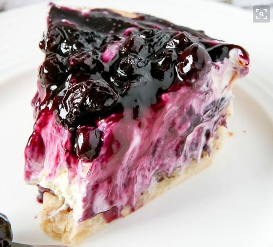 Healthy Blueberry Cream Cheese Pie – Desserts Corner