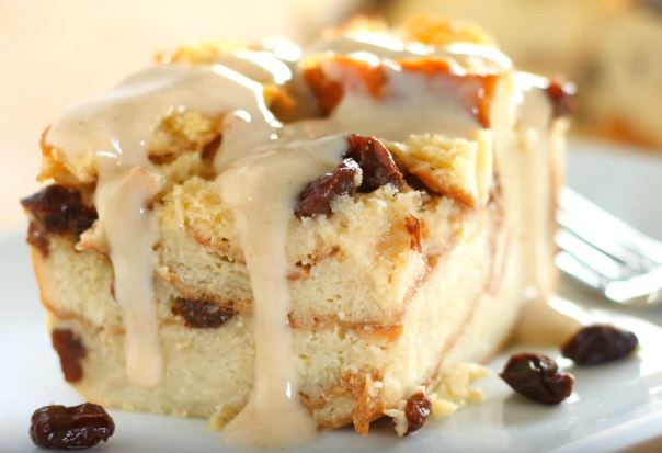 how to make bread pudding with chocolate sauce