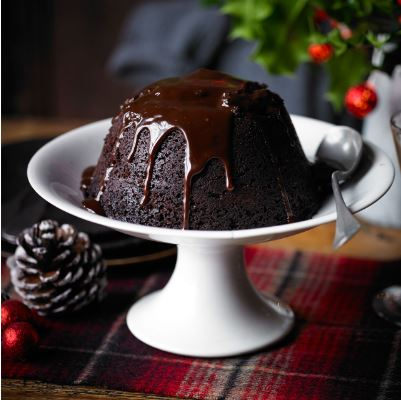 Delightful Chocolate Mint Christmas Pudding