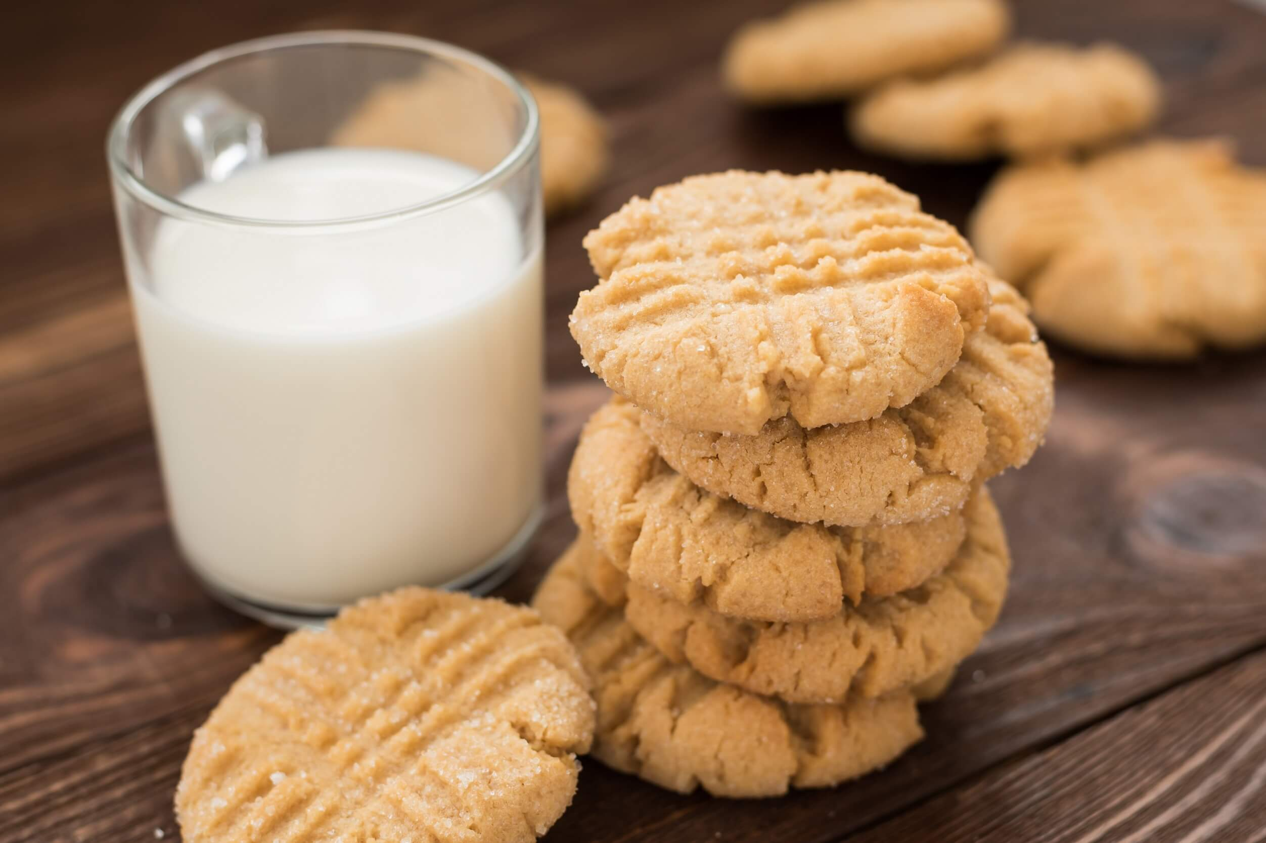The Best Ever Soft Peanut Butter Cookies