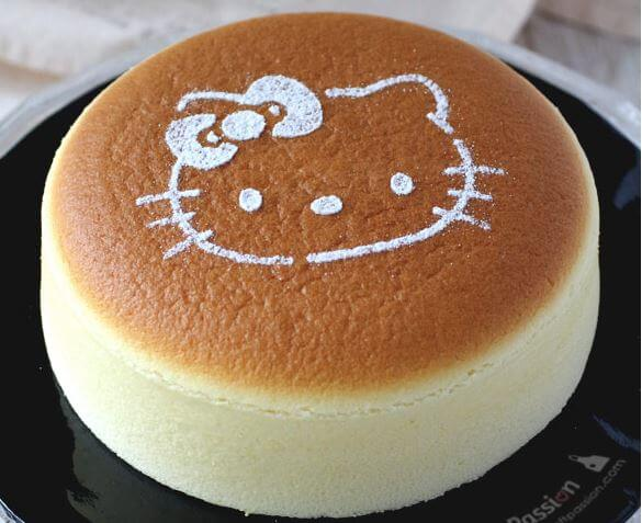 Soft And Spongy Japanese Cotton Cheesecake