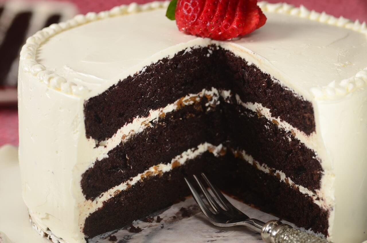 Heavenly Chocolate Cake With Swiss Buttercream