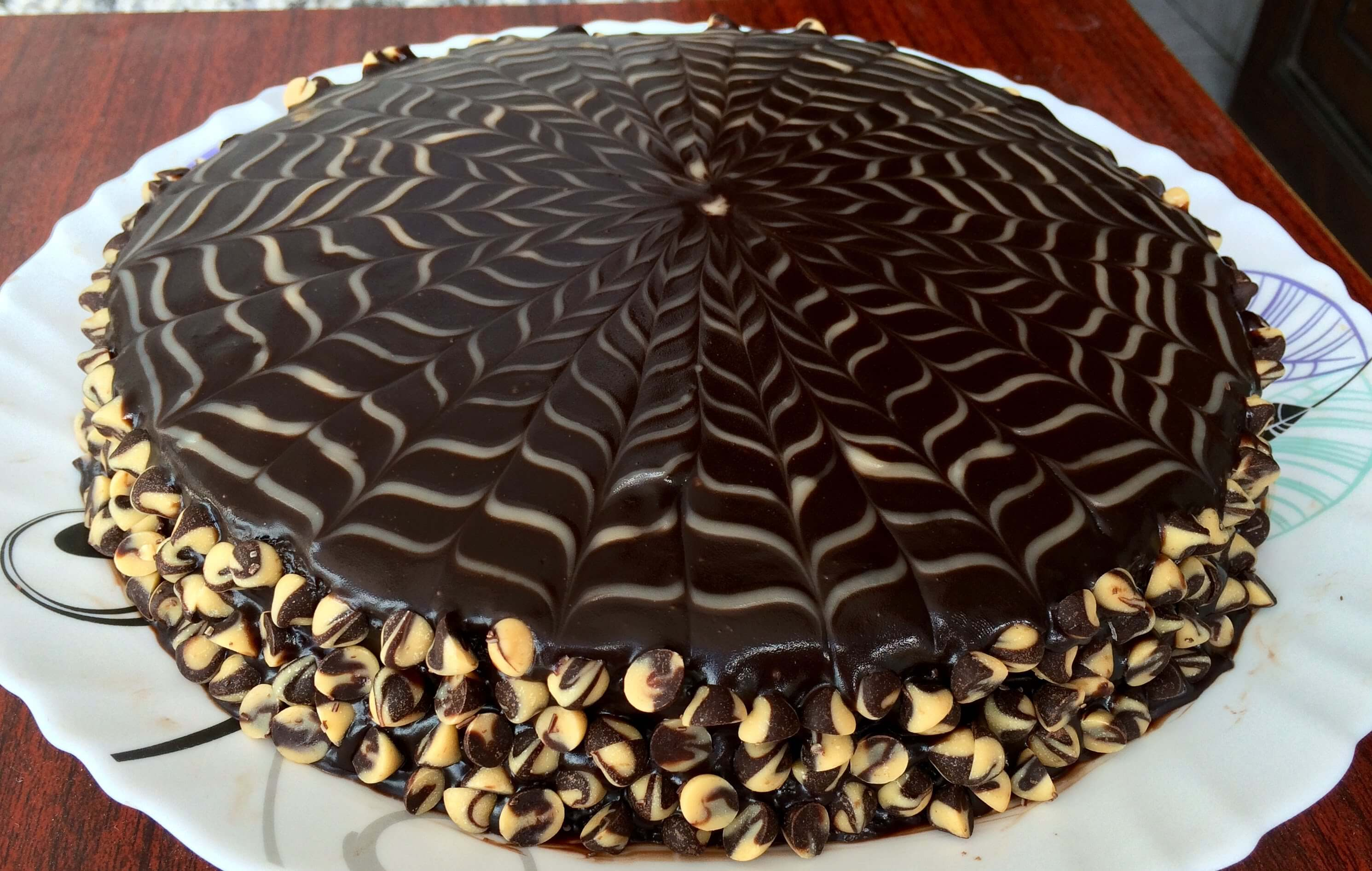 Mouthwatering Chocolate Cake With Ganache