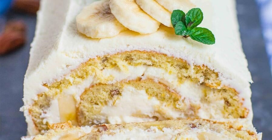 Easy Banana Cream Cake
