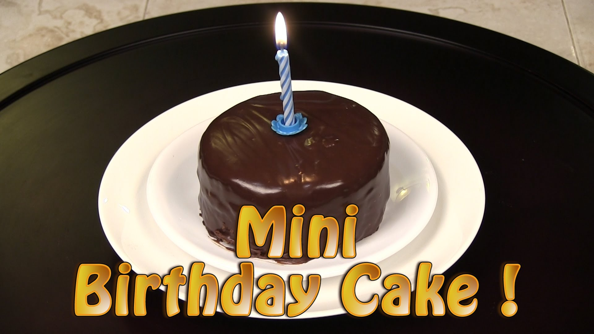 Cool Easy Mini Birthday Cake Recipe Desserts Corner Funny Birthday Cards Online Alyptdamsfinfo
