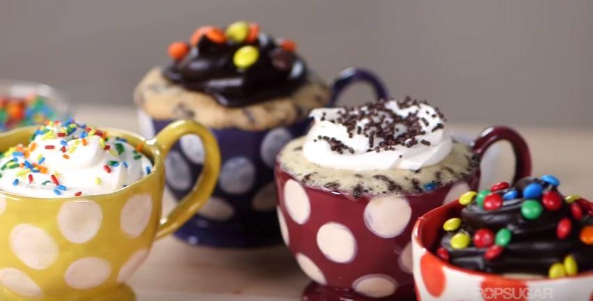 Delicious 2-Minute Mug Cakes - Desserts Corner